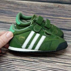 Adidas Dragon Trainer Toddler Baby Shoes sz 6